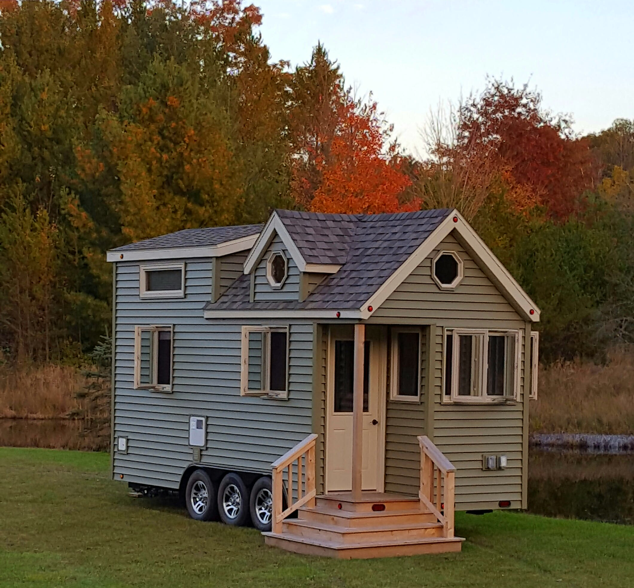Tiny Home in Autumn